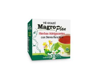 Magro Plan con stevia 10 saquitos