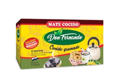 Mate Cocido Don Fernando 25 saquitos